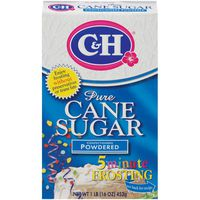 C&h Pure Cane Sugar Confectioners Powdered Sugar