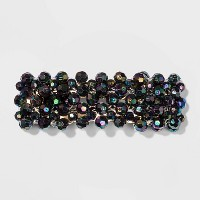 Beaded Metal Snap Hair Clips and Pins - Wild Fable™ Black