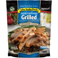 John Soules Foods Grilled Chicken Breast Strips, 8oz