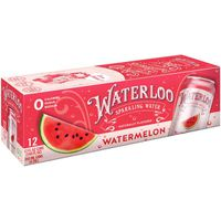Waterloo Sparkling Water, Watermelon
