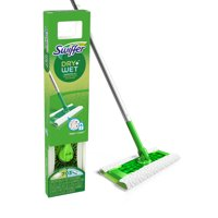Swiffer Sweeper Starter Kit, (1 Mop Kit, 10 Pad Refills)