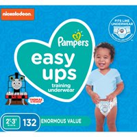 Pampers Easy Ups Training Underwear Boys Size 4 2T-3T 132 Count