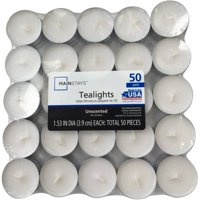 Mainstays Tealight Candle Pack, 50 Count