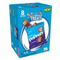 Kellogg's Rice Krispies Treats Poppers Chocolatey Caddy Bars 8 Ct