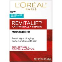 L'oreal Paris Revitalift Soften And Smooth Skin Anti-wrinkle + Firming Moisturizer