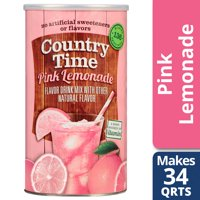 Country Time Pink Lemonade Drink Mix, Caffeine Free, 82.5 Ounce Cannister