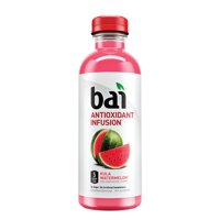 Bai Flavored Water, Kula Watermelon, Antioxidant Infused Drink, 18 Fluid Ounce Bottle