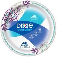 Dixie Plates, 8-1/2 Inch