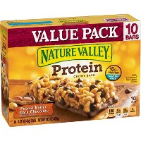 Nature Valley Peanut Butter Dark Chocolate Protein Chewy Bars - 14.2oz - 10ct