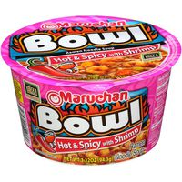 Maruchan Bowl Hot & Spicy with Shrimp