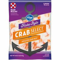 Kroger Flake Style Crab Select Imitation Crab Meat