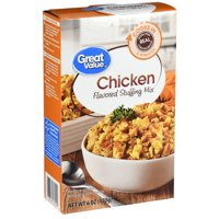Great Value Chicken-Flavored Stuffing Mix, 6 oz