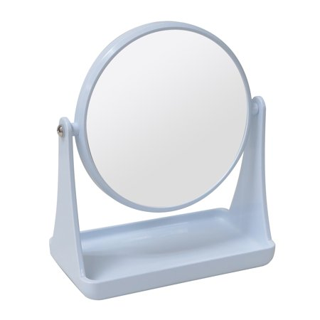 Mainstays Double-Sided Vanity Mirror, White