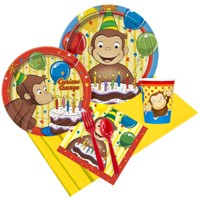 8ct Curious George Party Pack