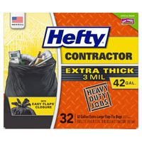 Hefty Contractor Extra Thick Bags, 32 x 42 gal