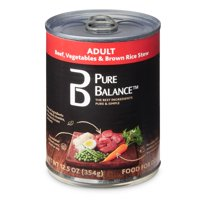 Pure Balance Beef, Vegetables & Brown Rice Stew Adult Wet Dog Food, 12.5 oz
