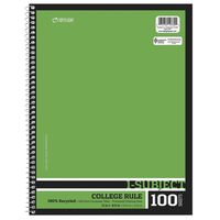 Top Flight Composition 1 Subject College Ruled Notebook