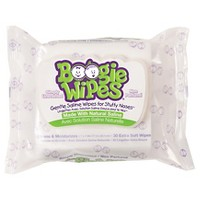 Boogie Wipes Saline Nose Wipes Unscented - 30ct