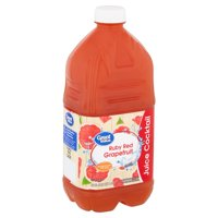Great Value Ruby Red Grapefruit Juice Cocktail, 64 fl oz