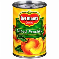 Del Monte Peaches, Sliced, in Heavy Syrup