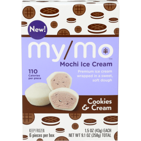 My Mo Mochi Ice Cream Cookies Cream