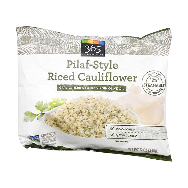365 everyday value® Garlic Herb Pilaf-style Riced Cauliflower, 12 oz