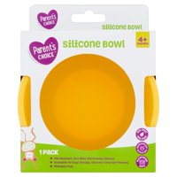 Parent's Choice Silicone Toddler Bowl, 4+ Months, 1 Pack