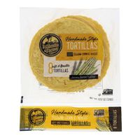 La Tortilla Factory Hand Made Style Tortillas Yellow Corn & Wheat