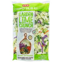 H-E-B Select Ingredients Chopped Garden Lime Salad