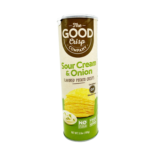 The good crisp company Sour Cream Onion Stacked Chips, 5.6 oz
