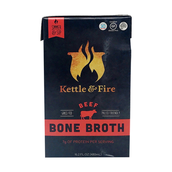 Kettle & fire Beef Bone Broth, 16.2 fl. oz.
