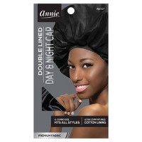 Annie Deluxe Jumbo Day and Night Black Cap