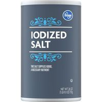 Kroger Iodized Salt