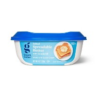 Salted Spreadable Butter with Canola Oil - 8oz - Good & Gather™