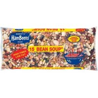 Hurst's Hambeens W/Seasoning packet original Dried 15 Bean Soup, 20 oz
