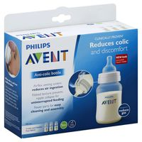 Philips Bottle, Wide-Neck, Anti-Colic, 1M+, 9 Ounce