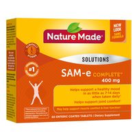 Nature Made SAM-e Complete 400 mg Tablets, 60 ct