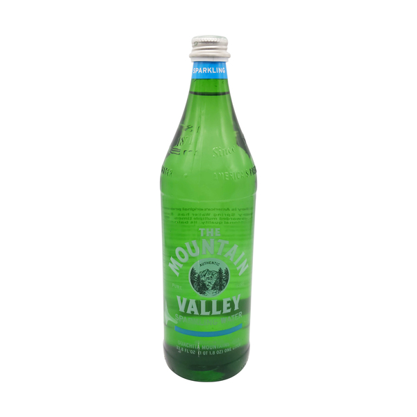 The mountain valley Sparkling Spring Water, 33.8 fl oz