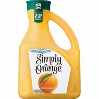 Simply Orange Orange Juice, Calcium & Vitamin D, Pulp Free