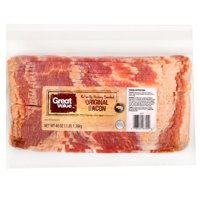 Great Value Naturally Hickory Smoked Bacon, 48 oz