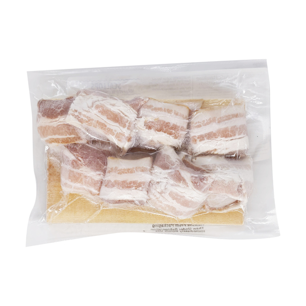 Raw seafoods, inc. Scallops Wrapped in Uncured Bacon