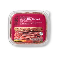 Uncured Hard Salami Ultra-Thin Deli Slices  - 7oz - Good & Gather™