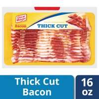 Oscar Mayer Naturally Hardwood Smoked Thick Cut Bacon, 16 oz Vacuum Pack