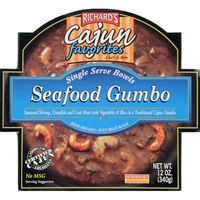 Richard's Seafood Gumbo, Single Serve Bowls