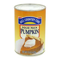 Hill Country Fare Pumpkin Purée