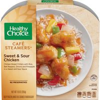 Healthy Choice Cafe Steamers Sweet And Sour Chicken