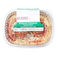 Freshness Guaranteed Spaghetti and Meatballs Ready Meal, 14.1 oz