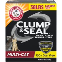 Arm & Hammer Clump & Seal Litter, MultiCat (Multiple Sizes)