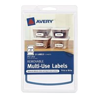 Avery 4x6 Removable Label 3-up, 15ct
