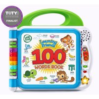 LeapFrog, Learning Friends 100 Words Book, Bilingual Book for Toddlers